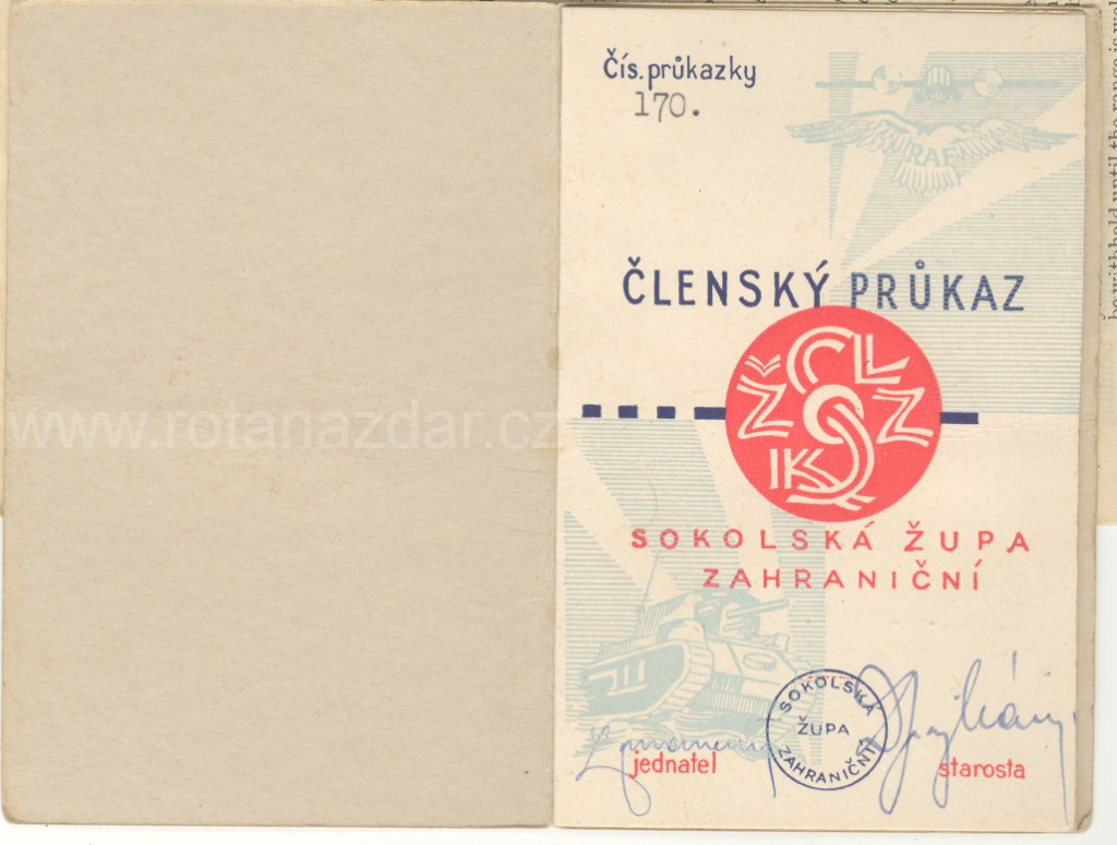 Exponat_tydne_prukaz-sokol_Šik