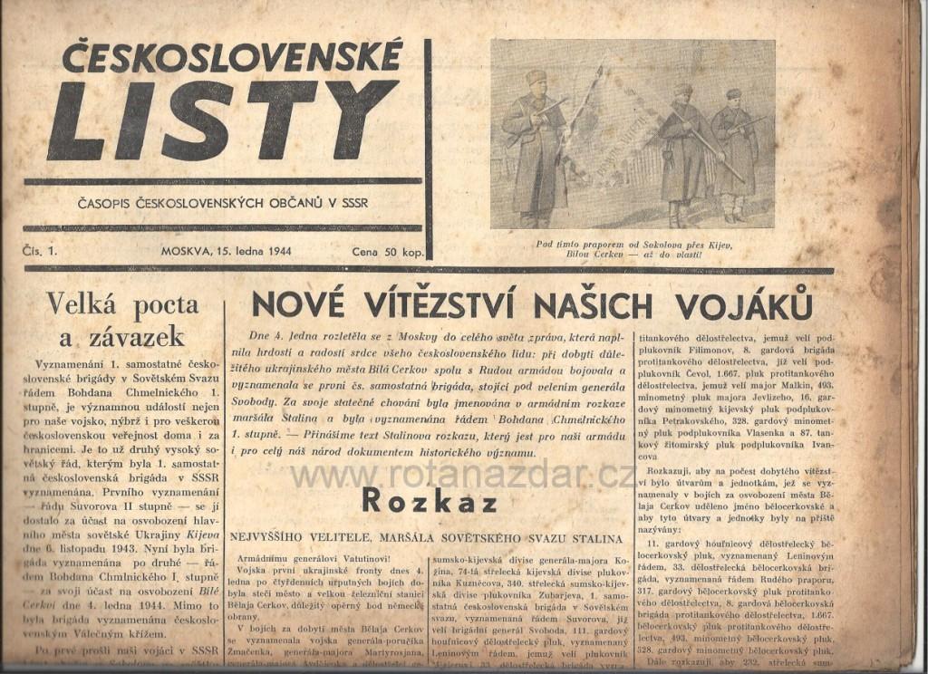 exponát_týdne_československé_listy